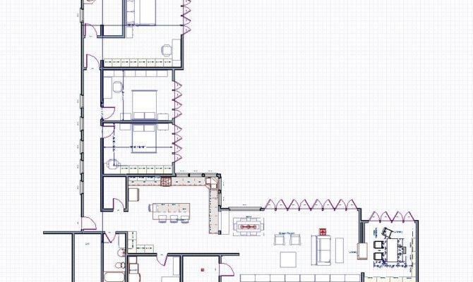 Frank Lloyd Wright House Floor Plans Kaufmann Plan