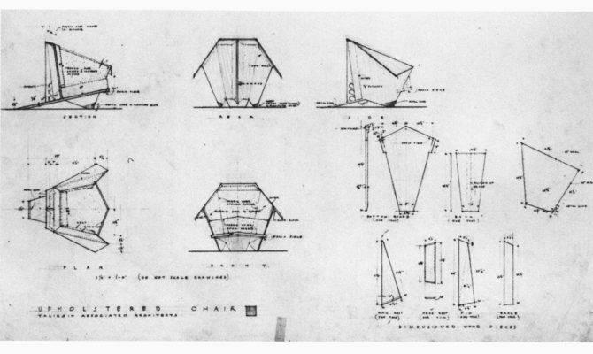 Frank Lloyd Wright Origami Chair Plans Woodguides