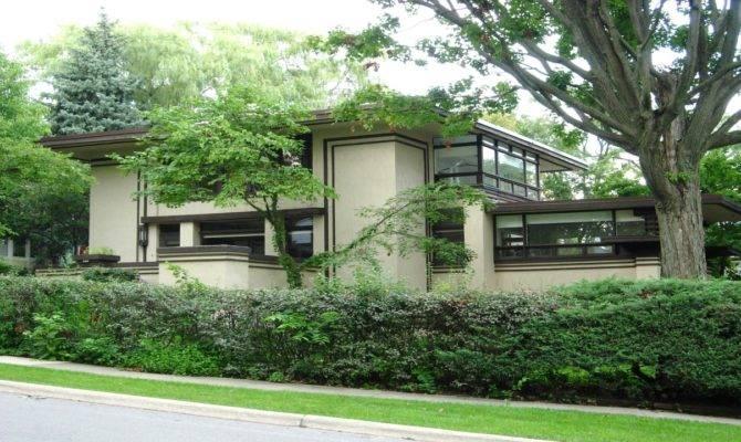Frank Lloyd Wright Prairie Architecture
