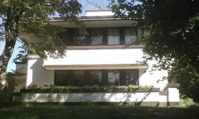 Frank Lloyd Wright Prairie House Architectural Plans Ebay