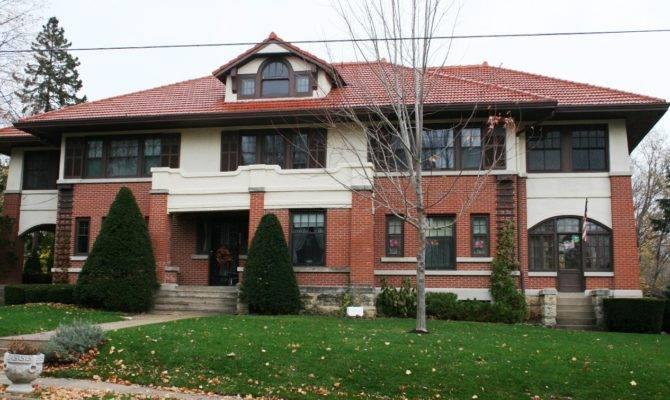 Frank Lloyd Wright Prairie Style House Plans Amazing