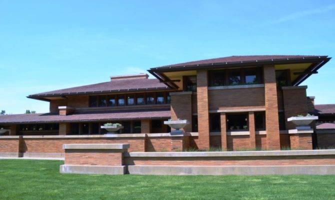 Frank Lloyd Wright Prairie Style House Plans Ideas