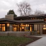 Frank Lloyd Wright Style House Plans Comely