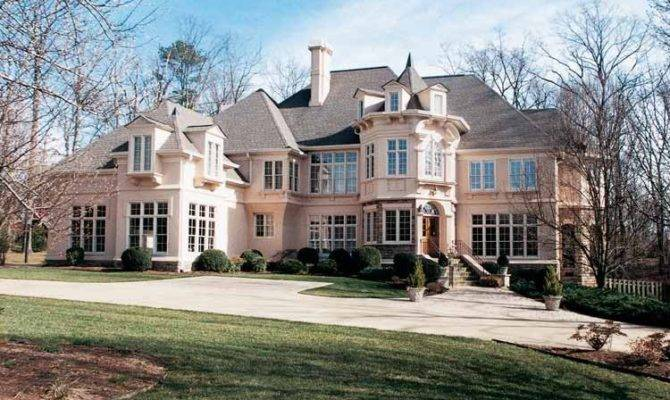 French Chateau House Plans Dream Home Source Chateauesque