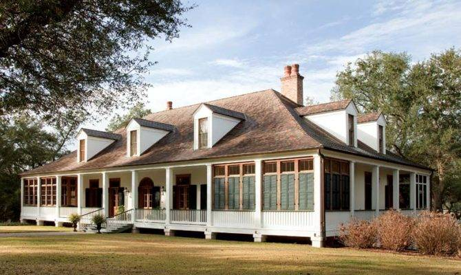French Colonial House Plans