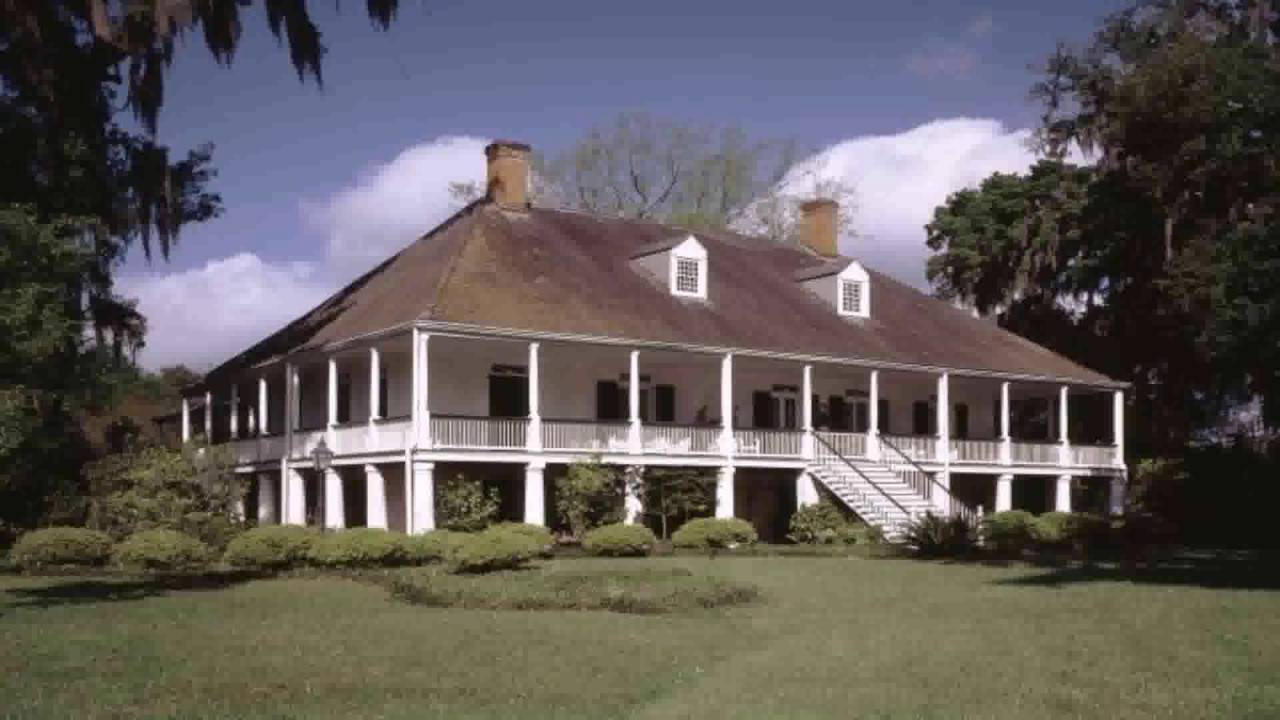 French Colonial House Style Youtube