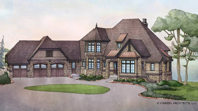 French Country Home Plans Style