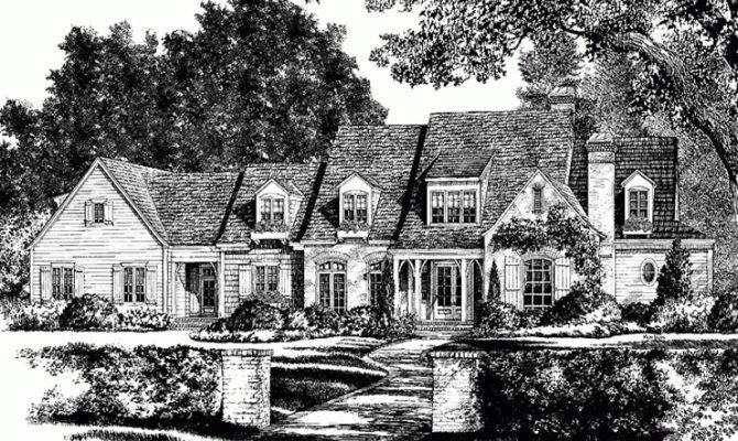 French Country House Plan Juliette Southern Living