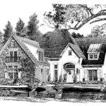 French Country House Plan Poppy Point Southern Living