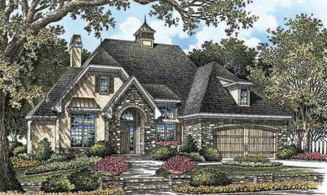 French Country House Plan Square Feet Bedrooms