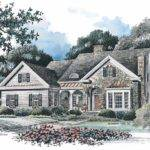 French Country House Plans One Story Car