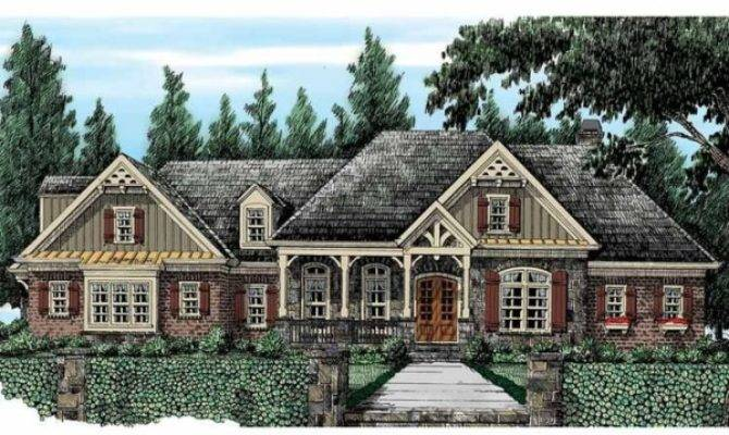 French Country Ranch House Plans Design