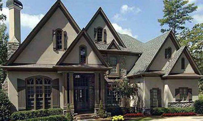 French Country Ranch House Plans Single Story Design