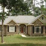French Country Style Homes One Story Ranch House Plan Front Home