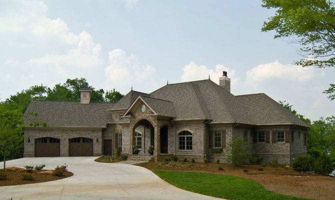 French Country Traditional Exterior Charlotte