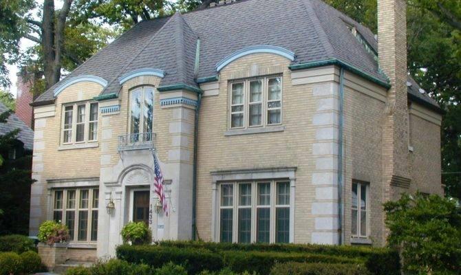 French Eclectic House Keystone Avenue Lakota Group