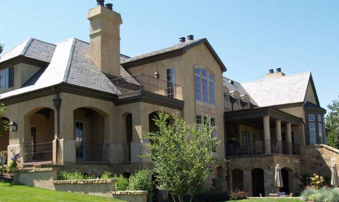 French Eclectic Style Home Designed Jeff Jenkins Architect