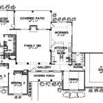French House Plan First Floor Plans More