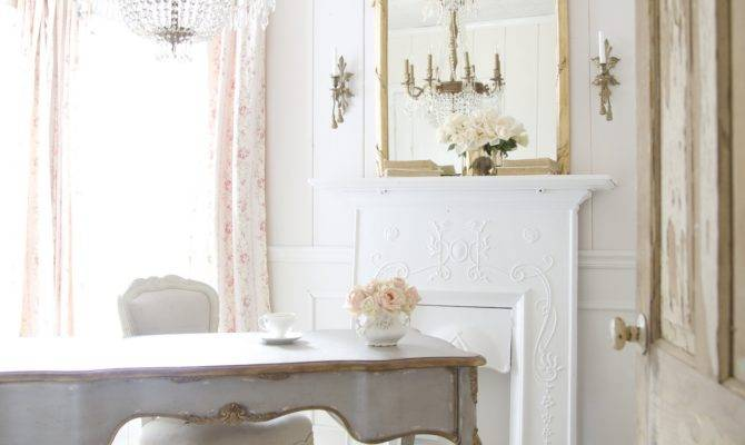 French Style Office Country Cottage