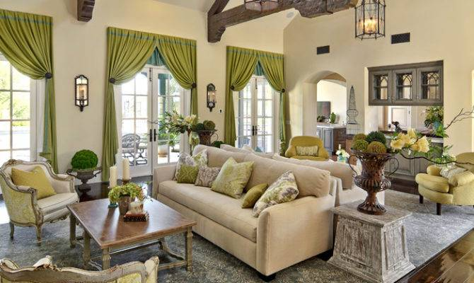 French Style Southern California Eclectic