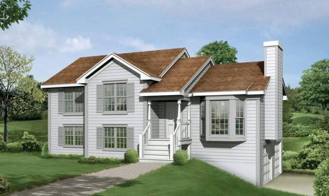 Fresh Split Level House Front Porch Plans
