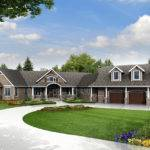 Friendly House Plan Country Home Luxury