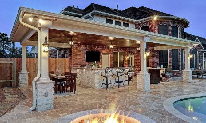 Friendswood Outdoor Living Space Texas Custom Patios