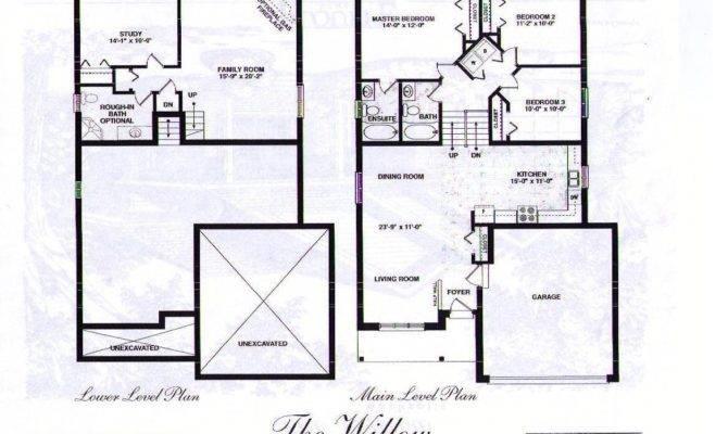 Front Back Split House Plans