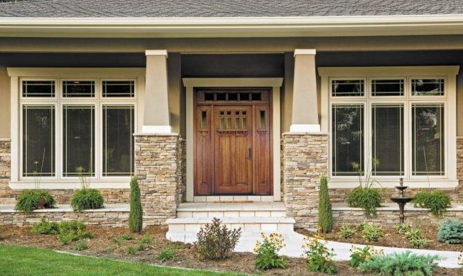 Front Doors Craftsman Style Houses Angie List