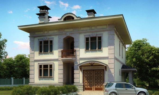 Front Elevation Europe Design House