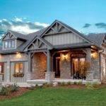Front Elevation Exterior Craftsman Doug Tarry Homes