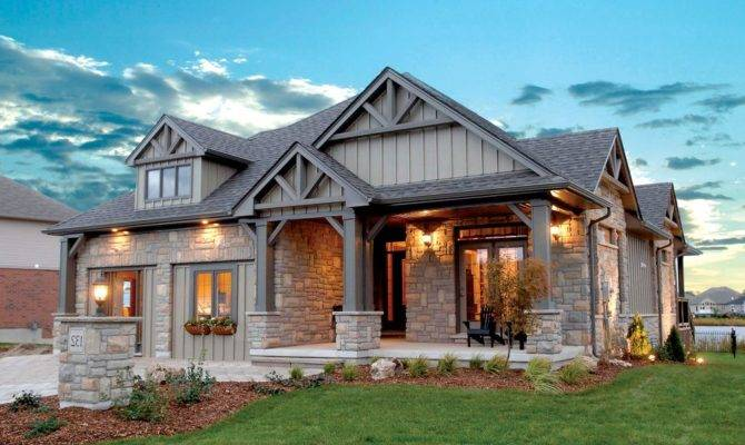 Stunning Craftsman House Elevations Ideas Home Plans