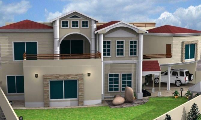 Front Elevation House Bill Gates Design