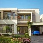 Front Elevation Modern House Plans Designs