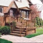Front Porch Deck After