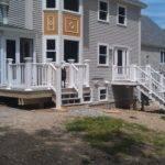 Front Porch Deck Almost Complete Allen Remodeling