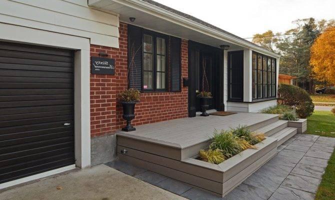Front Porch Deck Modern Balustrade