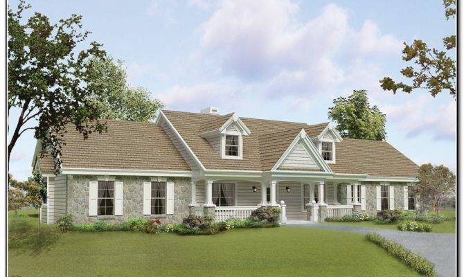 Front Porch Designs Raised Ranch Homes Porches Home Furniture