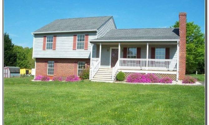 Front Porch Designs Split Level Homes Porches Home