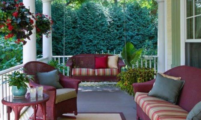 Front Porch Furniture Houzz