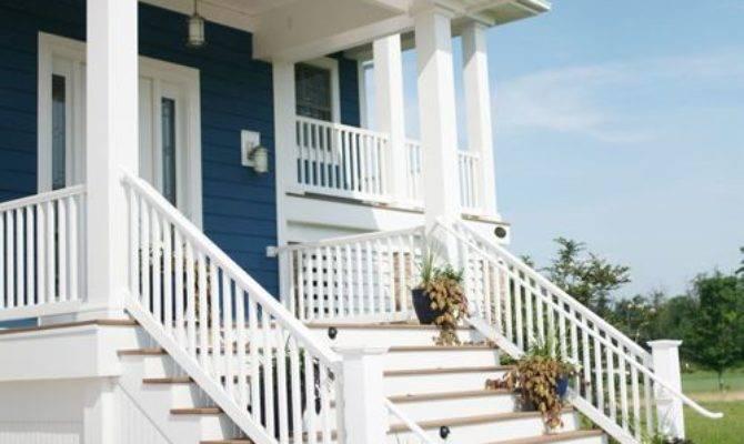 Front Porch Handrails Houzz