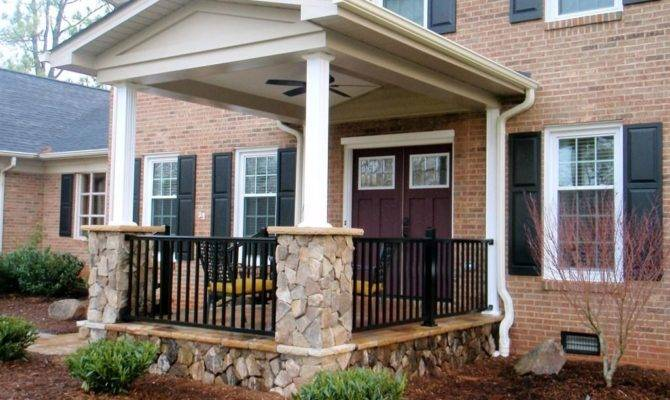 Front Porch Ideas Small Houses Ranch Style Homes