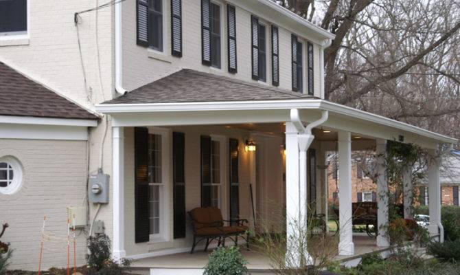 Front Porch Portico Difference Which