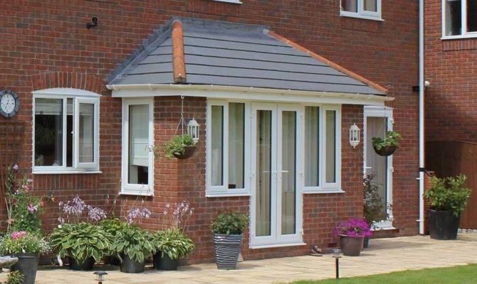 Front Porch Upvc Brick Porches Clearview Home