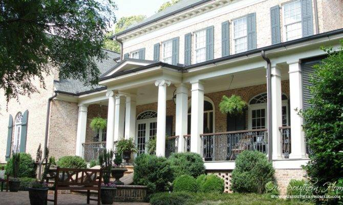 Front Porch Yours Found Style Sundays Our Southern Home