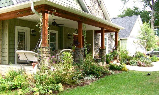 Front Porches Ranch Style Homes