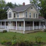 Front Porches Wrap Around Replicated Historic