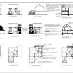 Front Side Elevation Sectional Plan Floor