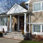 Front Stairs Masonry Siding Windows Trim Gutters Roof