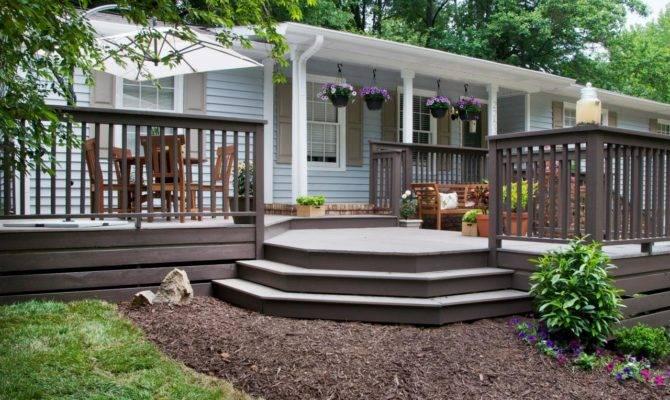 Front Yard Decks Patios Outdoor Spaces Patio Ideas